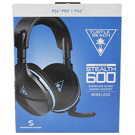 (Turtle Beach Stealth 600 Wireless Headset for Playstation 4, 00731855033409)