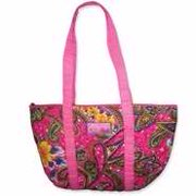 Tote-Quilted/Amazing Love-Pink Paisley