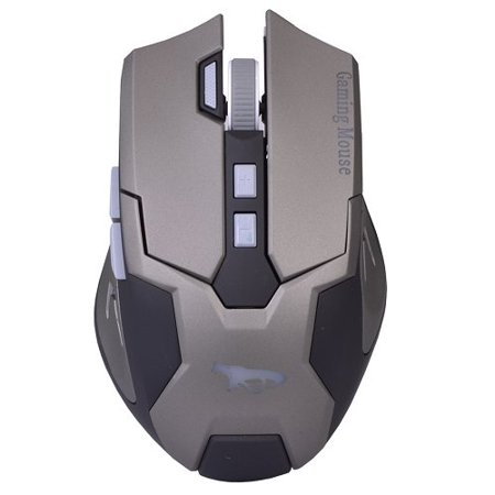 Black Cobra Gamer USB 8 Button Optical Video Gaming Performance (Best Games Mouse Only)