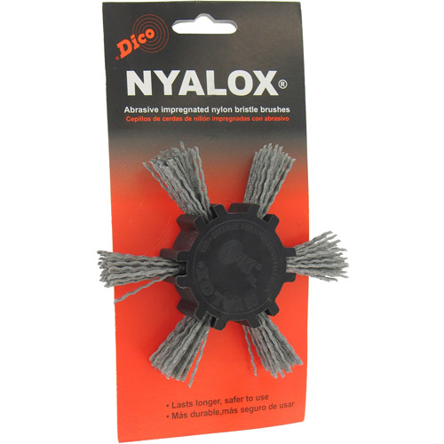 "DiCo. 7200033 4"" Extra Coarse Nyalox Flap Wire Brush by Dico"
