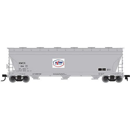 sp whistle stop atm20001410 ho acf 4650 3-bay centerflow hopper, kerr mcgee no. 105