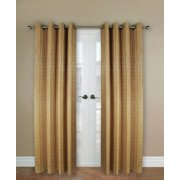 Versailles Bamboo Wood Curtain Panel With Grommets 48in X 84in