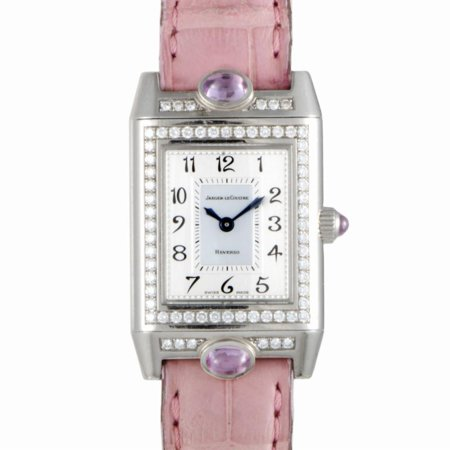 Pre-Owned Jaeger Lecoultre Reverso Q2623402 Gold Women Watch (Certified Authentic & (Jaeger Lecoultre Ladies)