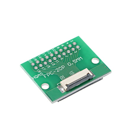 Dipped Apples - FFC FPC 20 Pins 0.5mm Pitch to DIP 1.0mm PCB Converter Board Couple Extend Adapter