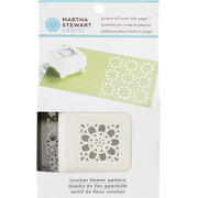 Martha Stewart Punch All Over the Page Punch, Crochet Flower