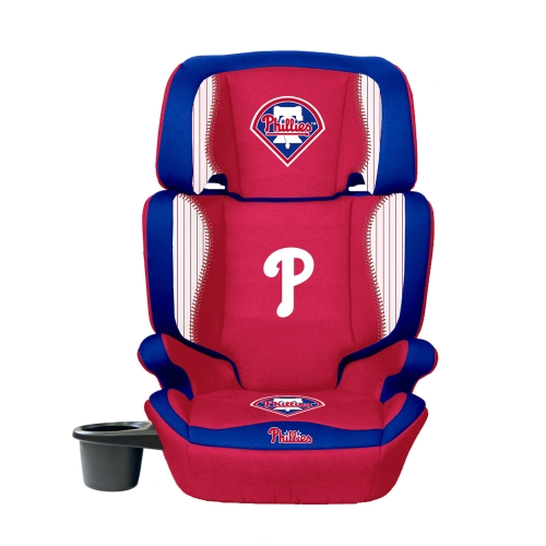 Philadelphia Phillies Lil Fan 2-in-1 Premium High Back Booster Seat - No Size