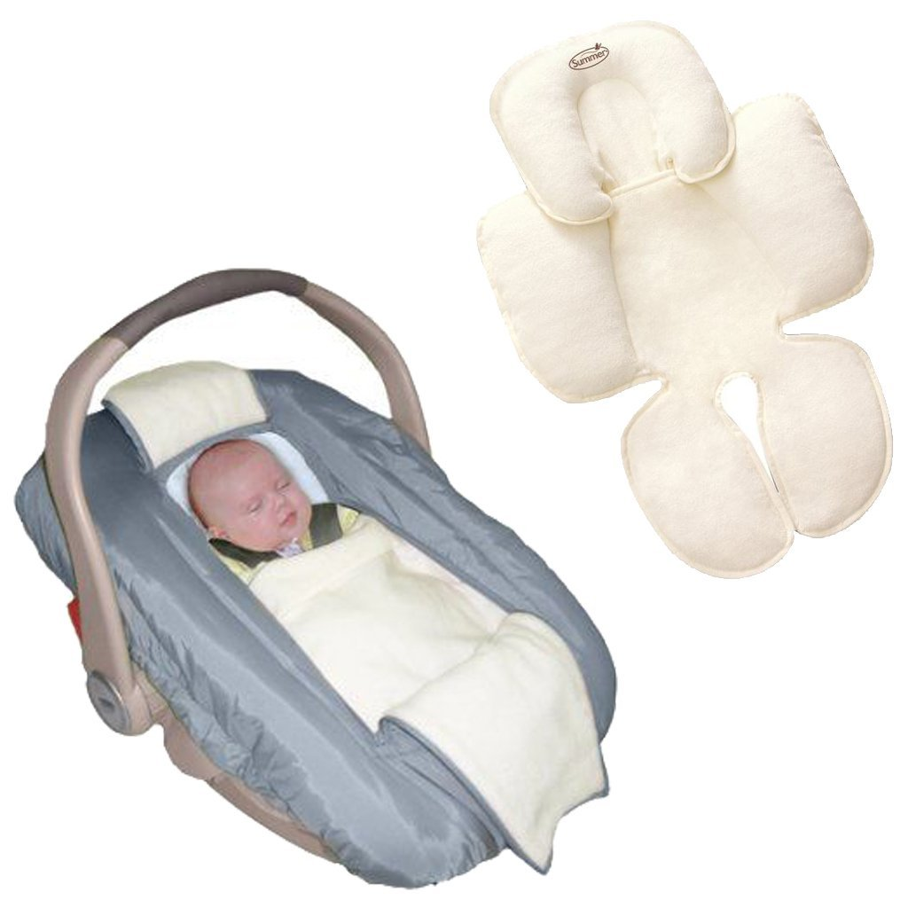 jolly-jumper Arctic Car Seat Cover with Snuzzler Body Sup...