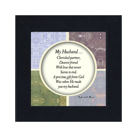 My Husband  Gift For Husband From Wife Anniversary  Picture Frame For Men  6X6 75517
