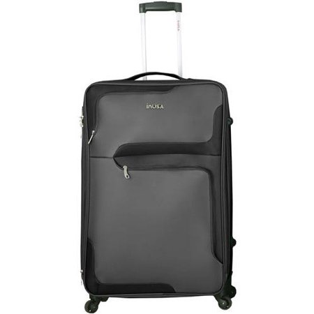 "InUSA 3D-City 28"" Lightweight Softside Spinner Luggage"