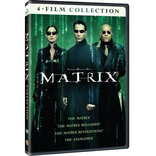 4 Film Favorites: Matrix Collection (DVD + Digital Copy With UltraViolet) (Walmart Exclusive)