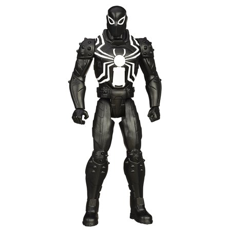Ultimate Spider Man Web Warriors Titan Hero Quick Talking Agent Venom  Features Signature Web Slinger Phrases And Sound Effects By Spiderman