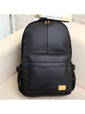 df30713e08fb Product Image Casual Fashion Men Women PU Leather Backpack School Bookbag  Laptop Shoulder Bags