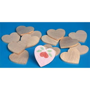 Wooden Hearts, Pack of 25