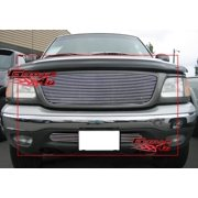 Compatible with 1999-2003 Ford F-150 F150 4WD Billet Grille Combo F67670A
