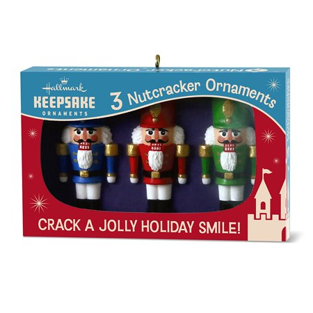 hallmark keepsake 2017 nutcracker nifty fifties keepsake christmas ornaments box of retro glass christmas ornaments - Walmart Christmas Decorations 2017