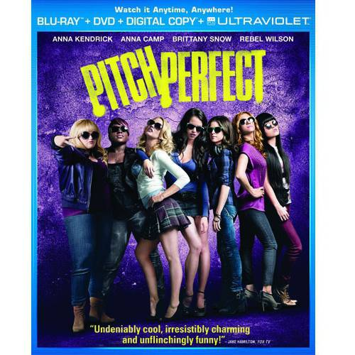 Pitch Perfect (Blu-ray + DVD + Digital Copy + UltraViolet) (With INSTAWATCH) (With INSTAWATCH) (Anamorphic Widescreen)
