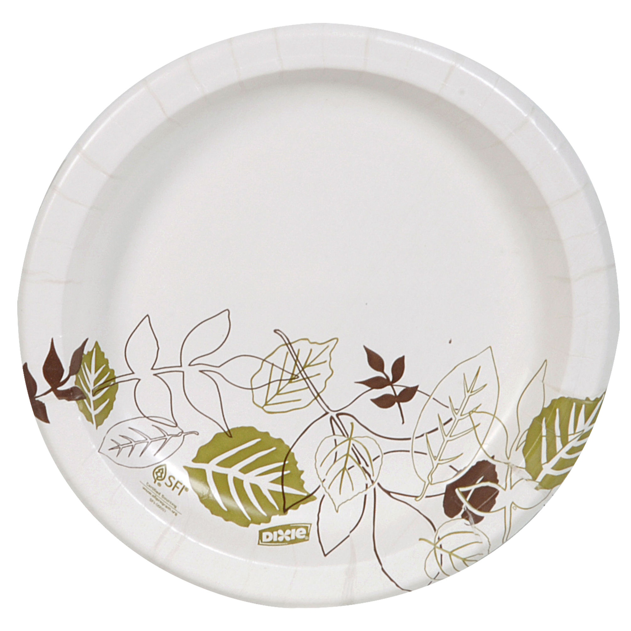 """Dixie® (UX9WS) Medium-Weight 8.5"""" Paper Plate by Georgia-Pacific, Pathways®, 4 Packs of 125 Plates (500 Plates Total)"""