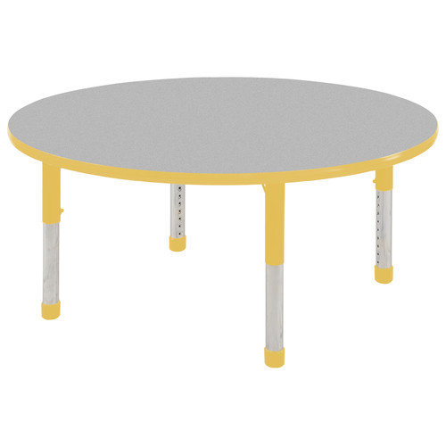ECR4Kids 48'' Round Classroom Table (Set of 4)