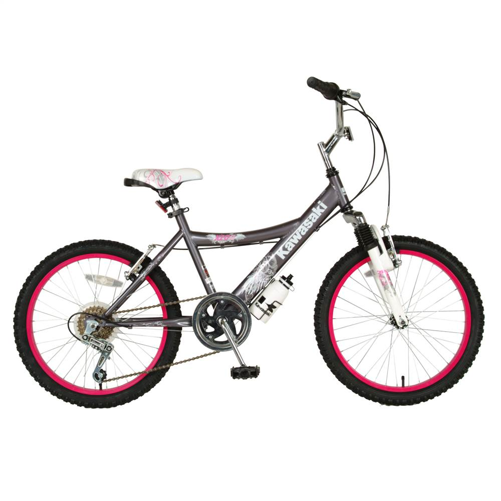 Kawasaki KX20G Girls' 6-Speed Bicycle