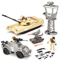 Kid Connection Military Tank Play Set, 25 Pieces