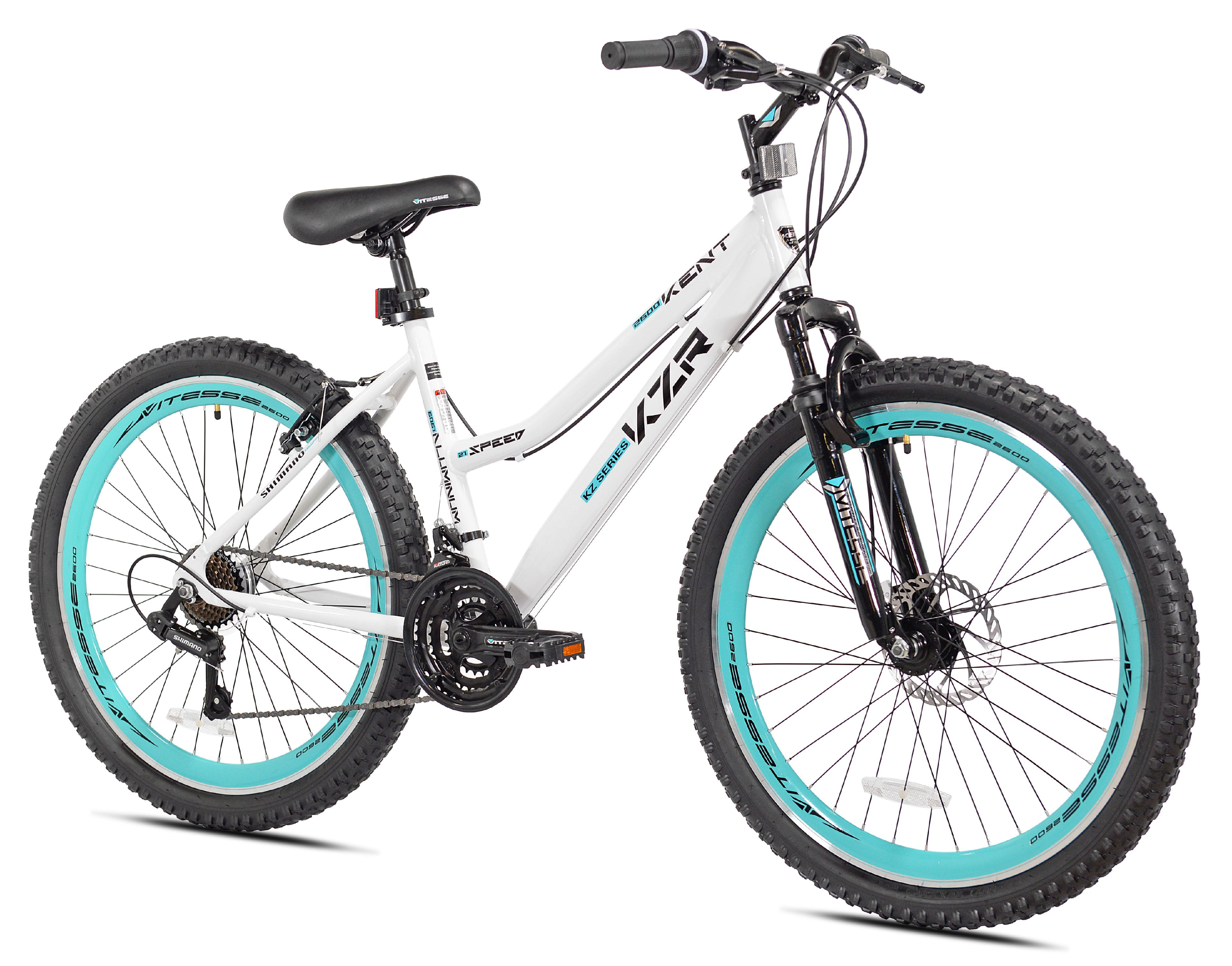 Kent 26 Women S Kzr Mountain Bike White Teal