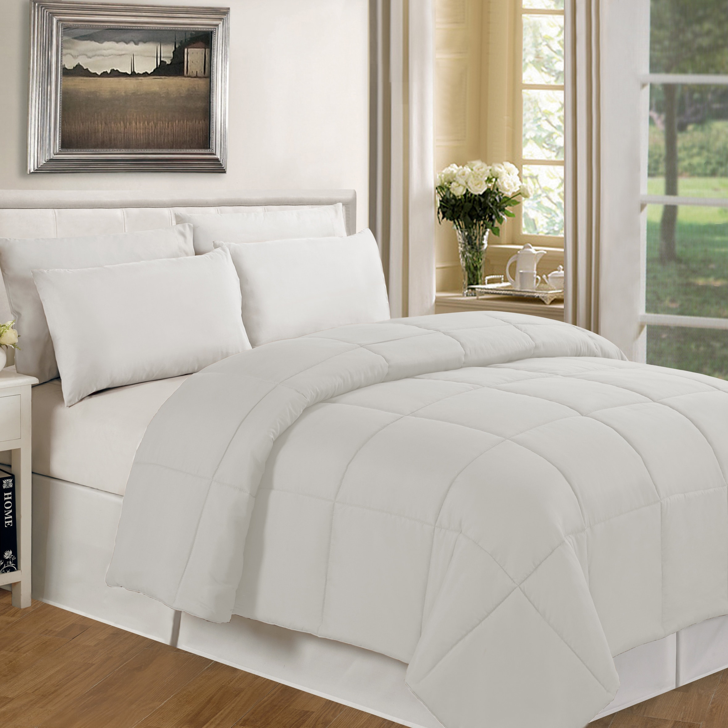 Richmond Home Twin Comforter in Black
