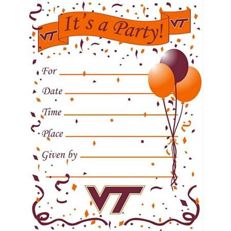 Virginia Tech Party Supplies (Virginia Tech Hokies Party)