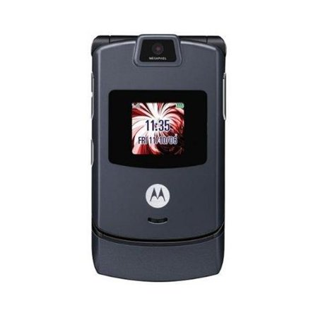 Motorola RAZR V3m - Black (Verizon) Cellular Phone manufacture refurbished ()