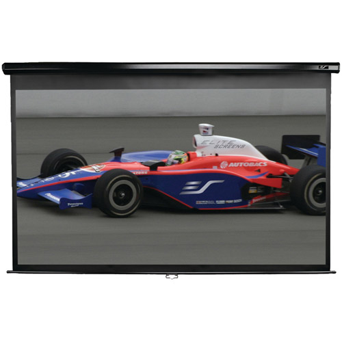 Elite Screens M120XWH2 Manual Series 16:9 Pull-Down Screen, 120""