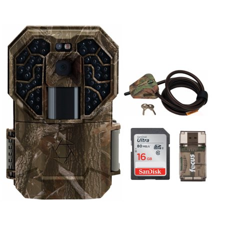 Stealth Cam G45NG Pro 14.0-Megapixel No Glo Trail Camera with Card and Lock Kit ()