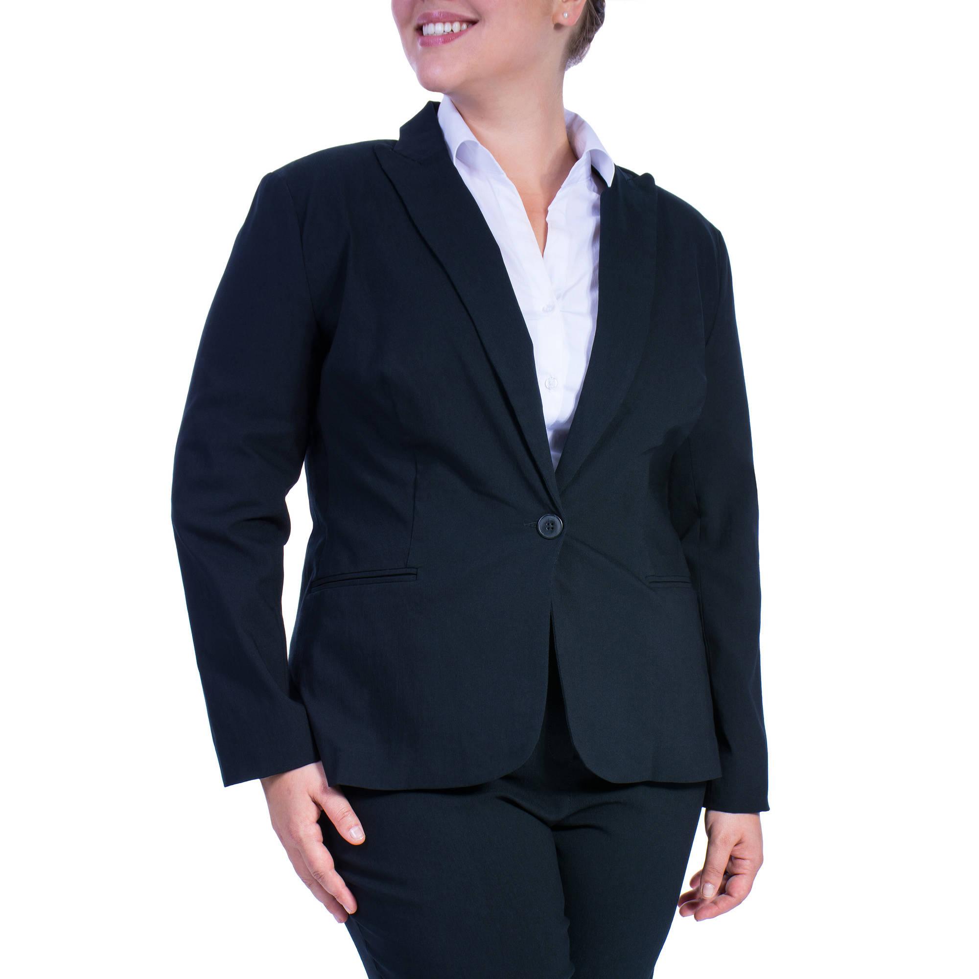 Women's Plus-Size Millennium Suiting Jacket