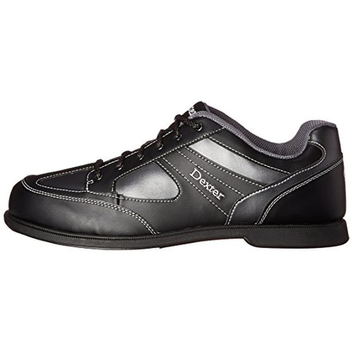 f498a5d1a Dexter Pro Am II Black Gray Men s RIGHT HAND Bowling Shoes