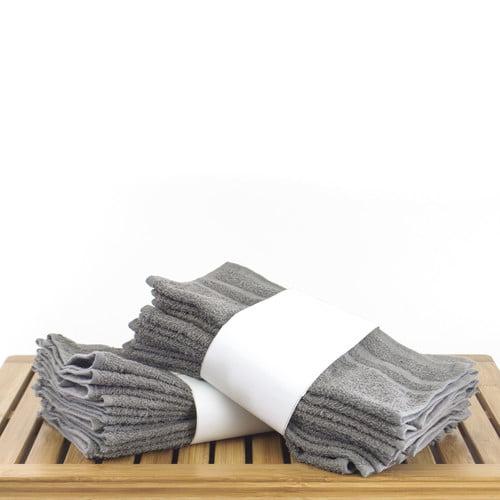 Bare Cotton 100pct Cotton Washcloth (Set of 24)