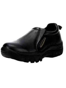 Roper Western Shoes Mens Wide Slip On Black 09-020-0601-8208 BL