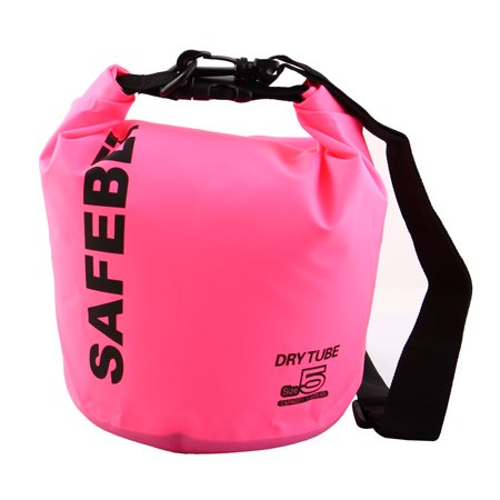 SAFEBET Authorized Water Resistant Bag Dry Sack Pink 5L for Rafting ... 83e7de67b0613