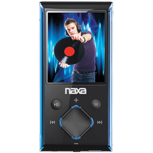 "Naxa 4GB 1.8"" LCD Portable Media Player,  NMV173N"