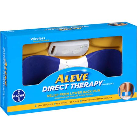 Aleve Direct Therapy Relief From Lower Back Pain  1 Ct