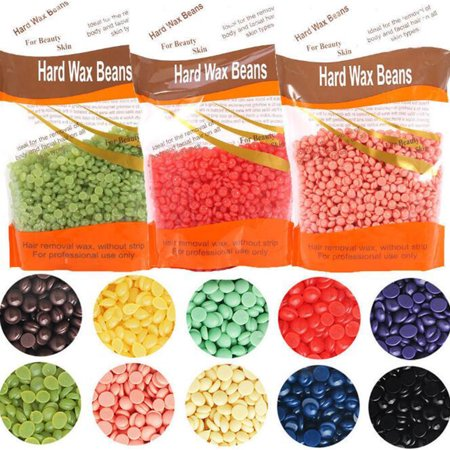 310g Pearl Hard Wax Beans Hot Film Wax Bead Hair Removal Wax Painless  Depilatory