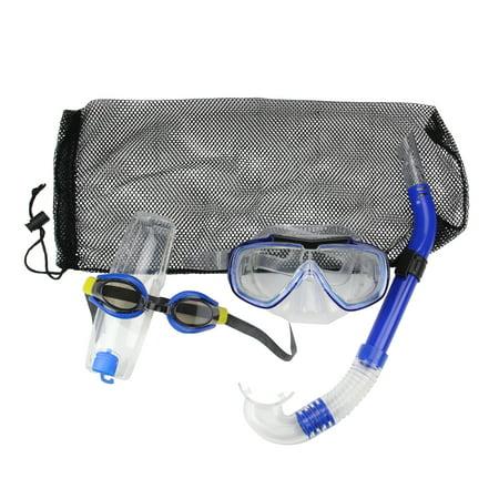 Pool Master 3pc Aqua Islander Adult Scuba Gear Combo Pack - Medium/Large - (Best Scuba Gear Packages)