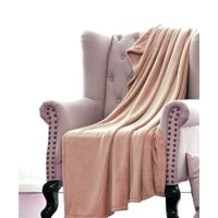 Product Image Ultra Soft Throw Gold Microlight Plush Solid Fleece Small Blanket 50 X 60