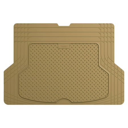 All Season Mats - FH GROUP All Season Protection Cargo Mat, Premium Trim to Fit, Tan