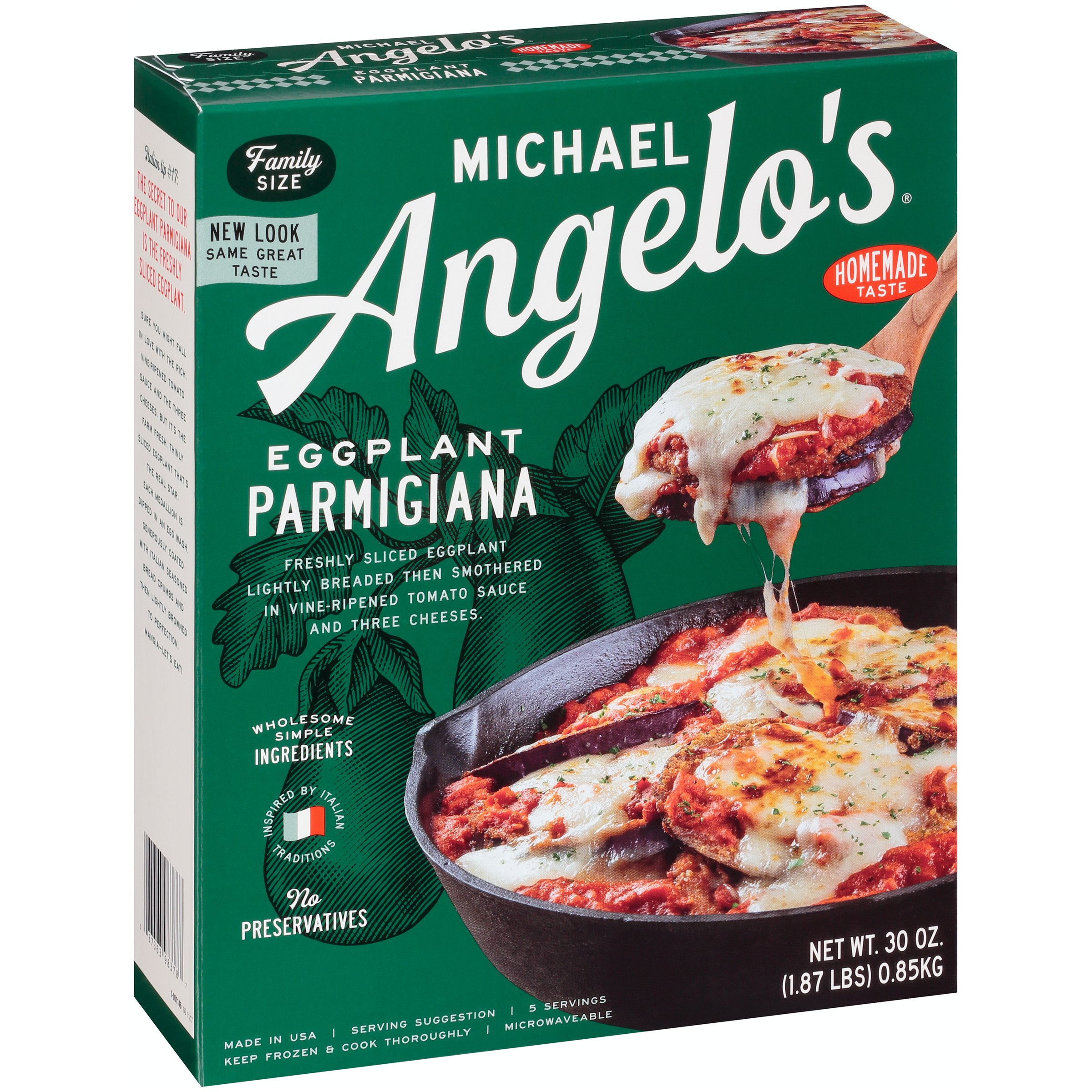 c2f6767389 Michael Angelo's® Eggplant Parmesan 30 oz. Box – Walmart Inventory ...