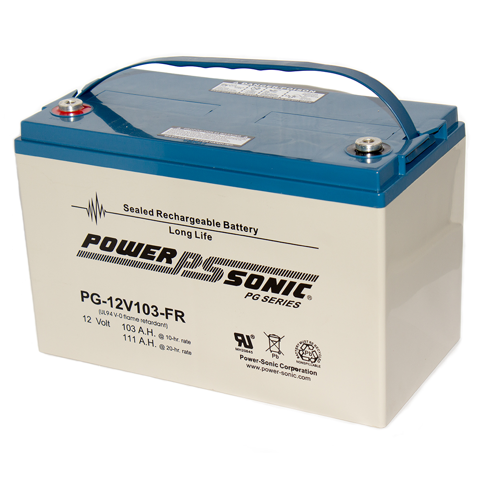 PG12V103-FR 12V 103 Amp Fire Rated SLA battery