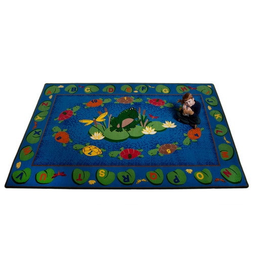 Kid Carpet Turtle Circle Time Area Rug