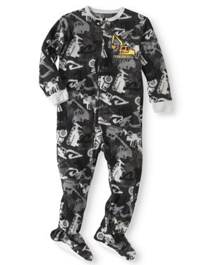 34ac8a6ee Toddler Boys One-piece Pajamas - Walmart.com