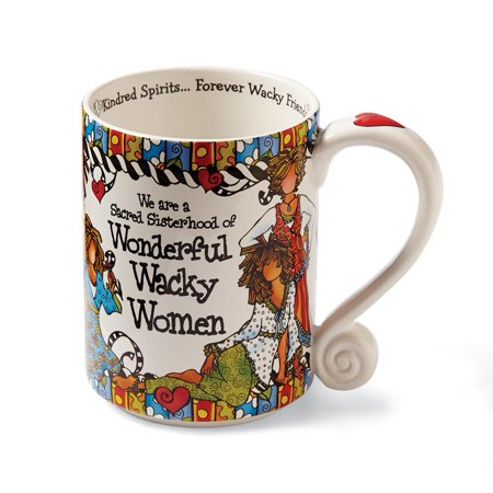 Wonderful Wacky Women Coffee Mug - Suzy Toronto Design ()