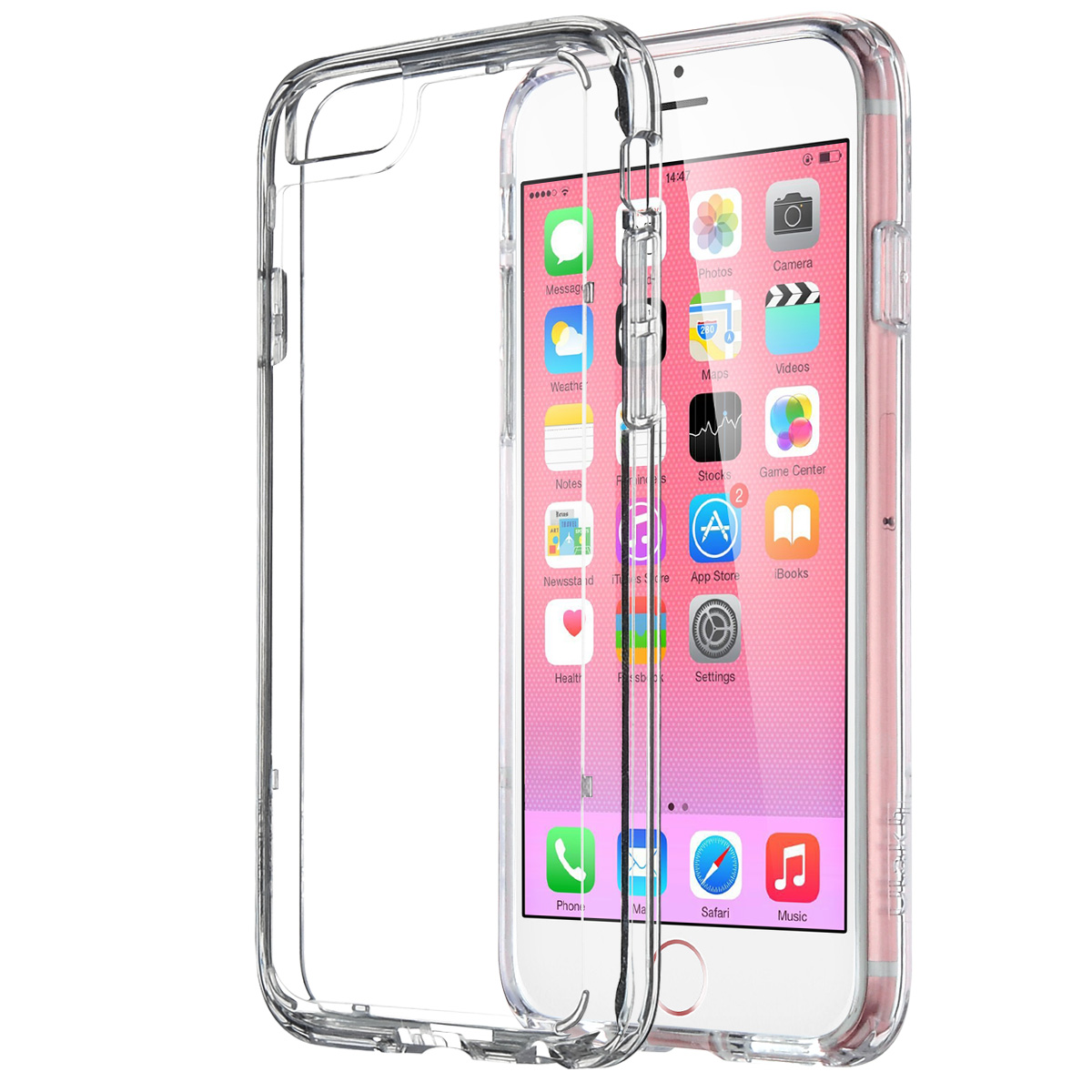 Apple iPhone 6 6S Plus 5.5 Case, ULAK [CLEAR SLIM] iPhone 6 Plus Clear Case Cover Bumber Hard for Apple iPhone 6 6S Plus 5.5 Inch