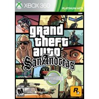 Grand Theft Auto: San Andreas, Rockstar Games, Xbox 360, 710425495649