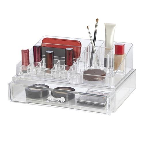 Richards Clearly Chic 19 Compartment Cosmetic Organizer
