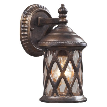- Elk Lighting Barrington Gate Wall Sconce - Hazelnut Bronze